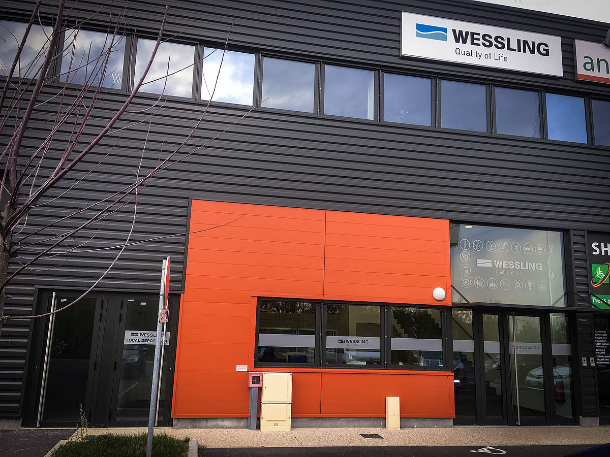 new rooms of WESSLING Lille.